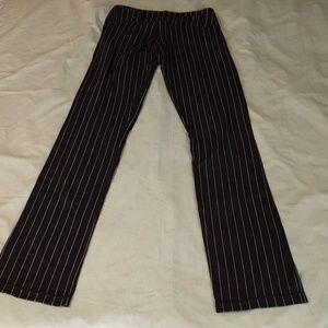 lululemon athletica Pants - Tall Lululemon Pinstripe Groove Pants